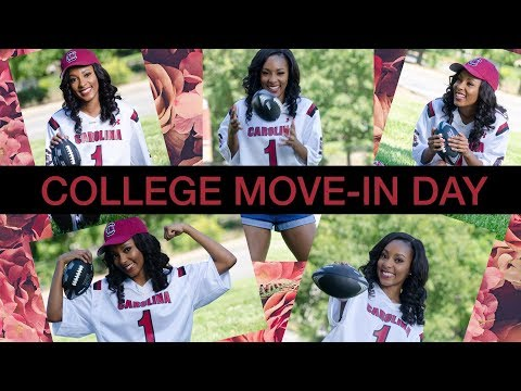 COLLEGE MOVE-IN DAY + ROOM TOUR | The University of South Carolina