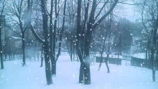 Miś i Margolcia  Tupu tup po śniegu