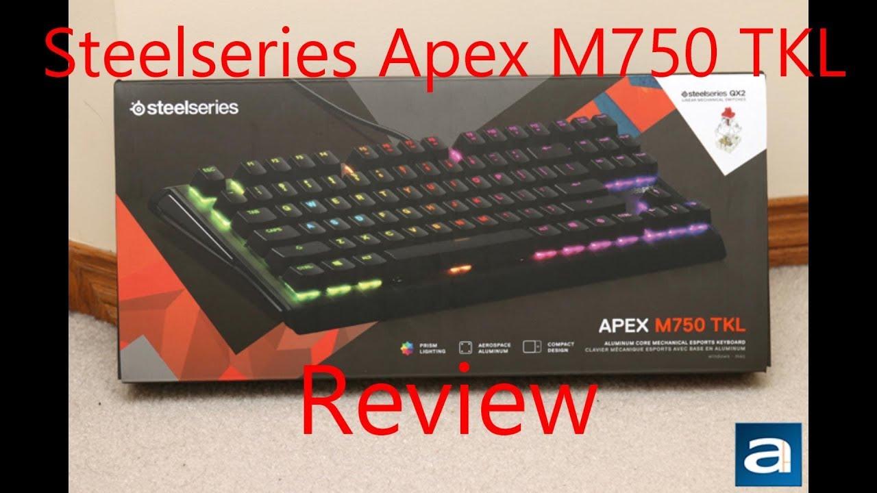 Steelseries Apex M750 TKL Review