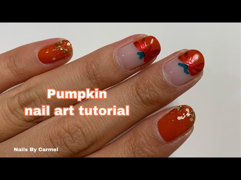 Pumpkin - Nail Art Tutorial thumbnail