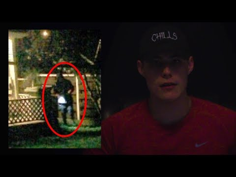 I've been seeing a man in my backyard for the past two nights - full story