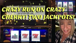 VGT CRAZY CHERRY ** TWO JACKPOTS **