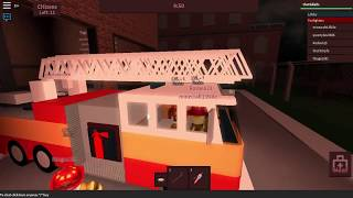 Extinguish fires, ride a fire truck, and be the firefighter-Roblox Firefighters! Swedish