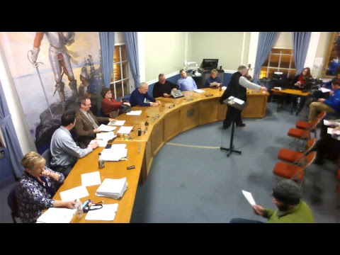 City of Plattsburgh, NY Meeting  1-11-18
