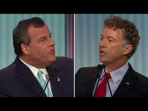 Chris Christie, Rand Paul spar over NSA | Fox News Republican Debate