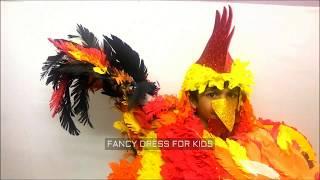 Cock birsd fancy dress speech act / fancy costume