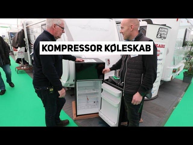 Kompressor køleskab til campingvogn opg autocamper