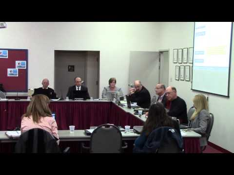Shikellamy School Board Meeting - Sunbury, PA 11/13/2014 Part 2