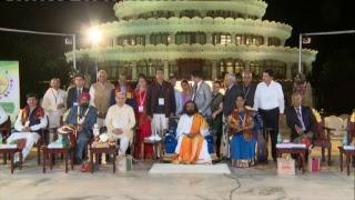 Inauguration of Ayurveda Parv with Gurudev Sri Sri Ravi Shankar