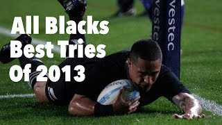 The Best All Black Tries Of 2013
