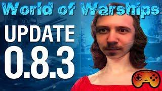 """Die Russen kommen mit Update 0.8.3 """"News"""" in World of Warships auf Deutsch"""