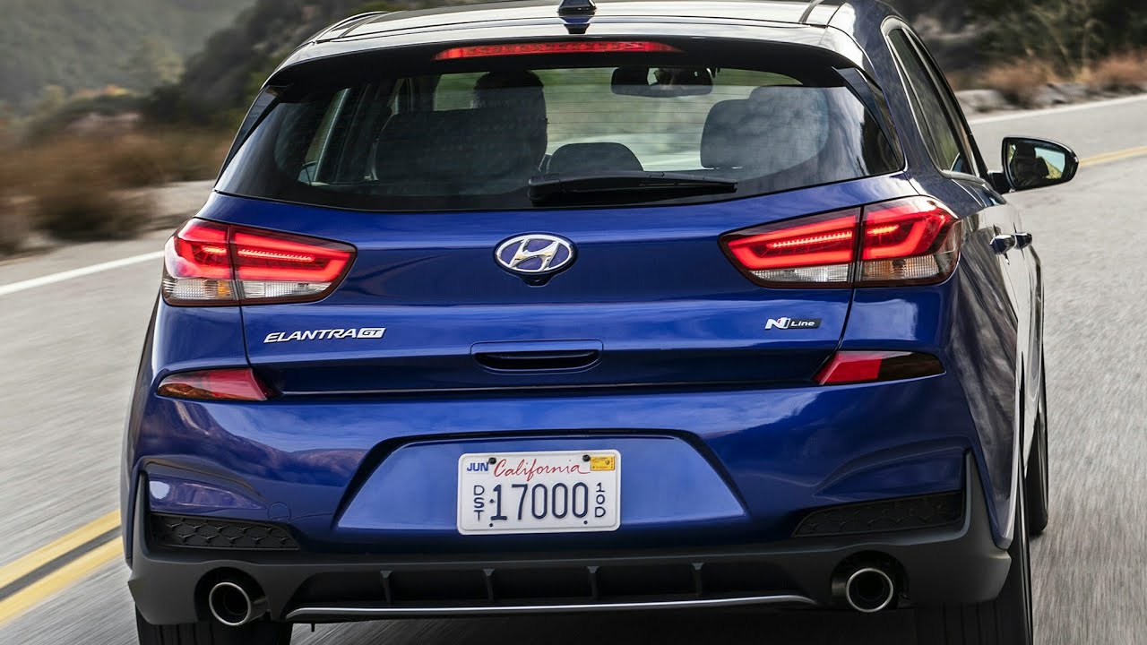 2019 hyundai elantra gt n line first u s n line model and it is street ready already youtube 2019 hyundai elantra gt n line first u s n line model and it is street ready already