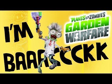 I'm Bacccckkkk W/ 45 Vanquishes: PVZ Garden Warfare - Gardens & Graveyards Gameplay
