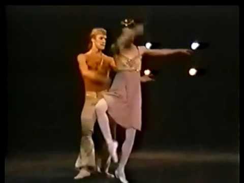 Alexander Godunov with Eleanor D'Antuono