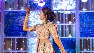 Bride's SURPRISE Solo Sangeet Dance   Rab Ne Bana Di Jodi + Dhadak + Nainowale   Bride Choreography