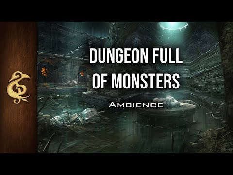 🎧 RPG / D&D Ambience - Dungeon Full Of Monsters | Intimidating Growls, Immersive, Danger, Adventure