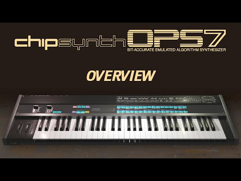 Feature overview of chipsynth OPS7