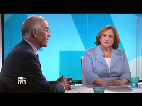 Brooks and Marcus on Trump meeting Putin, Republicans diverging on health care