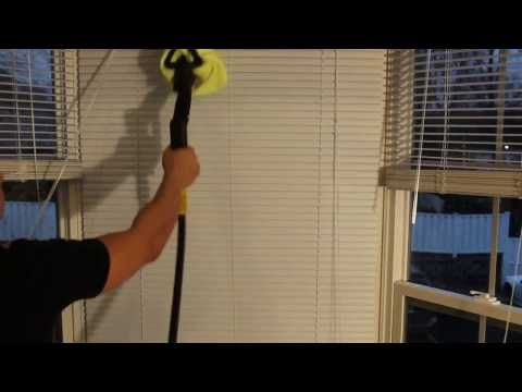 how to steam clean window blinds daimer steam cleaners. Black Bedroom Furniture Sets. Home Design Ideas