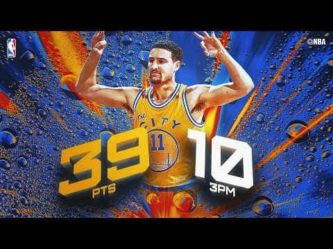 Klay Thompson Goes Off! Leads Warriors to 23-0 Start