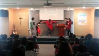 늘푸른 공동체 종려주일 연극(온가족예배중)