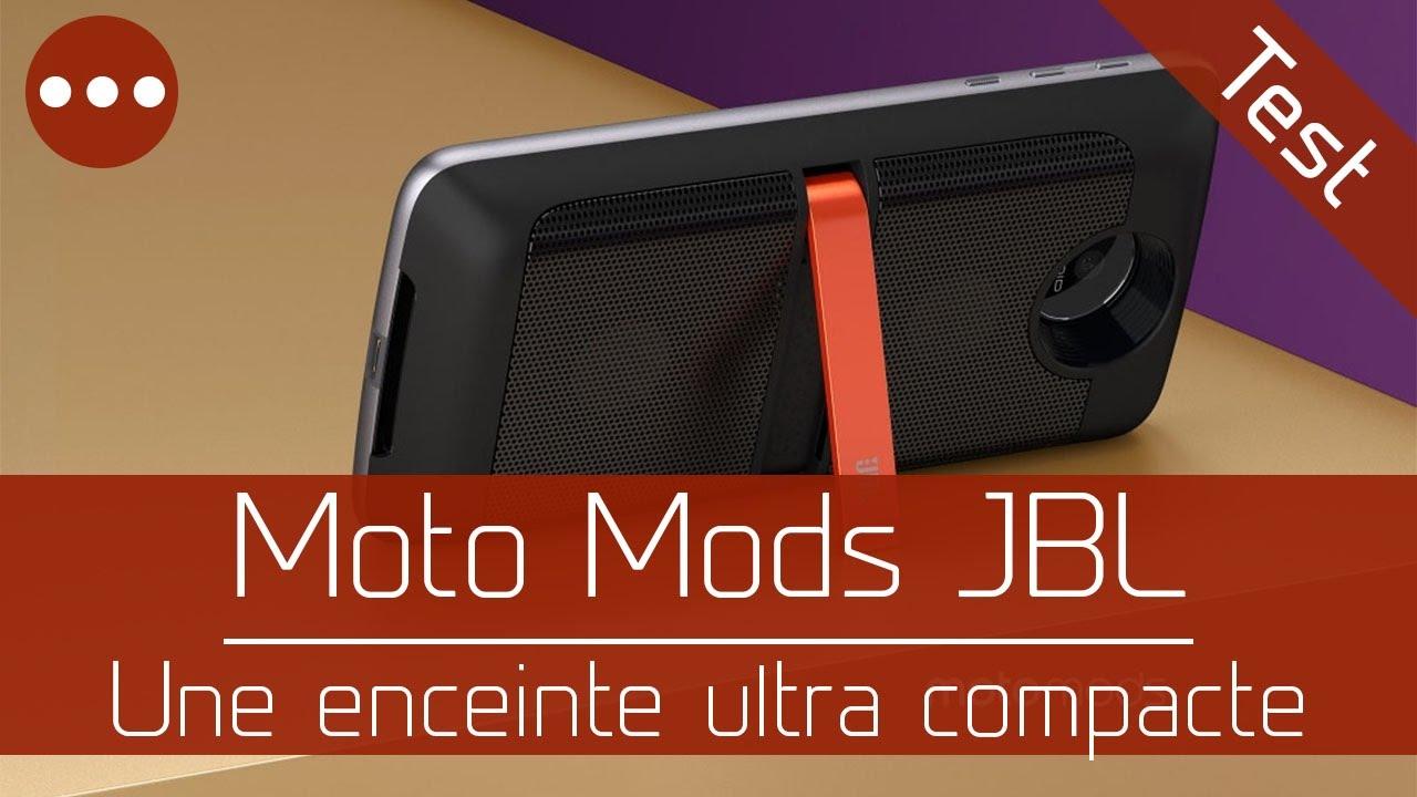 test moto mods jbl soundboost pour moto z z play youtube. Black Bedroom Furniture Sets. Home Design Ideas