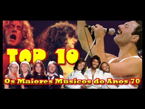 top 10 maiores m sicos dos anos 70 youtube