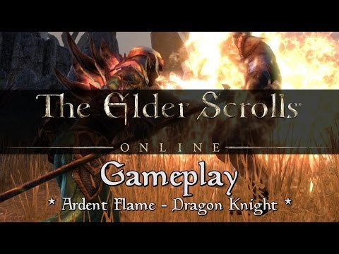 Eso Dragonknight Gameplay