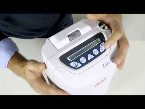 Zen-O™ - How to change language on your oxygen concentrator