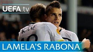 Erik lamela 'rabona' v asteras: goal of the season?