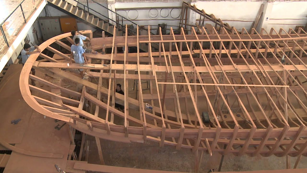 Wooden Boat Builders Bodrum - Turkey - YouTube