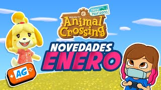 Novedades Enero en la ISLA de Animal Crossing new Horizons 2021