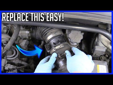 How to Replace Mass Air Flow Sensor Kia Sportage 2.7L V6 2005-2010