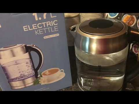 IKICH Electric Glass Kettle Review