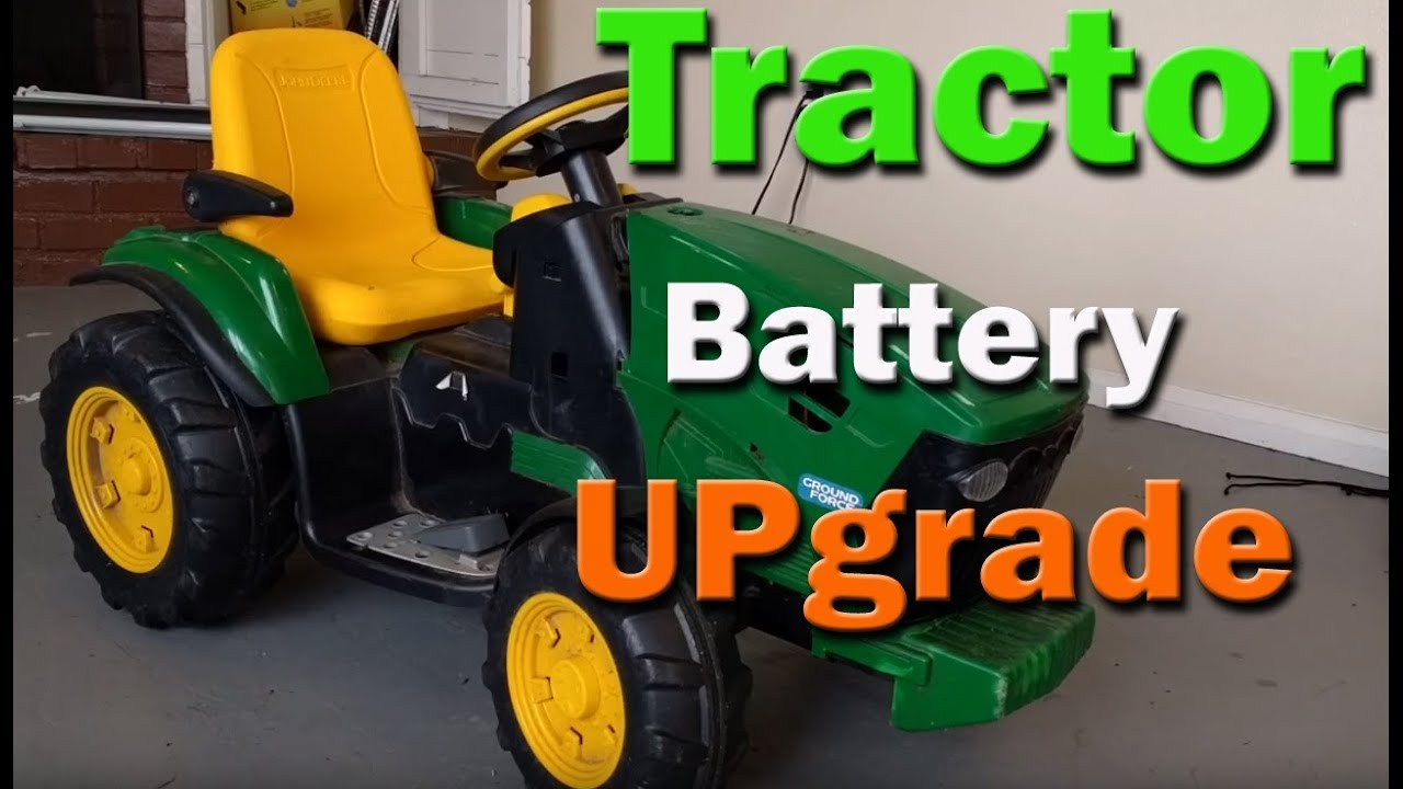 small resolution of peg perego john deere tractor battery upgrade