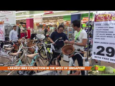 Largest Bike Collection in West Singapore