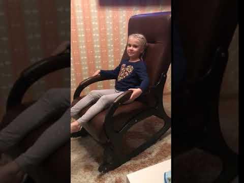 """Видео отзыв о кресле-качалке """"Престиж с подножкой"""""""