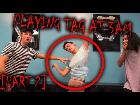 *SCARY* DO NOT PLAY TAG AT 3 AM [PART 2] (MY FRIEND GETS POSSESSED)