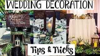 What I DIY'ed for my Wedding | Tips & Tricks
