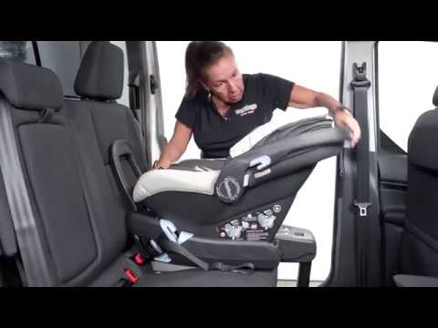 Peg Perego Primo Viaggio 4-35 Nido Installation Using Latch System