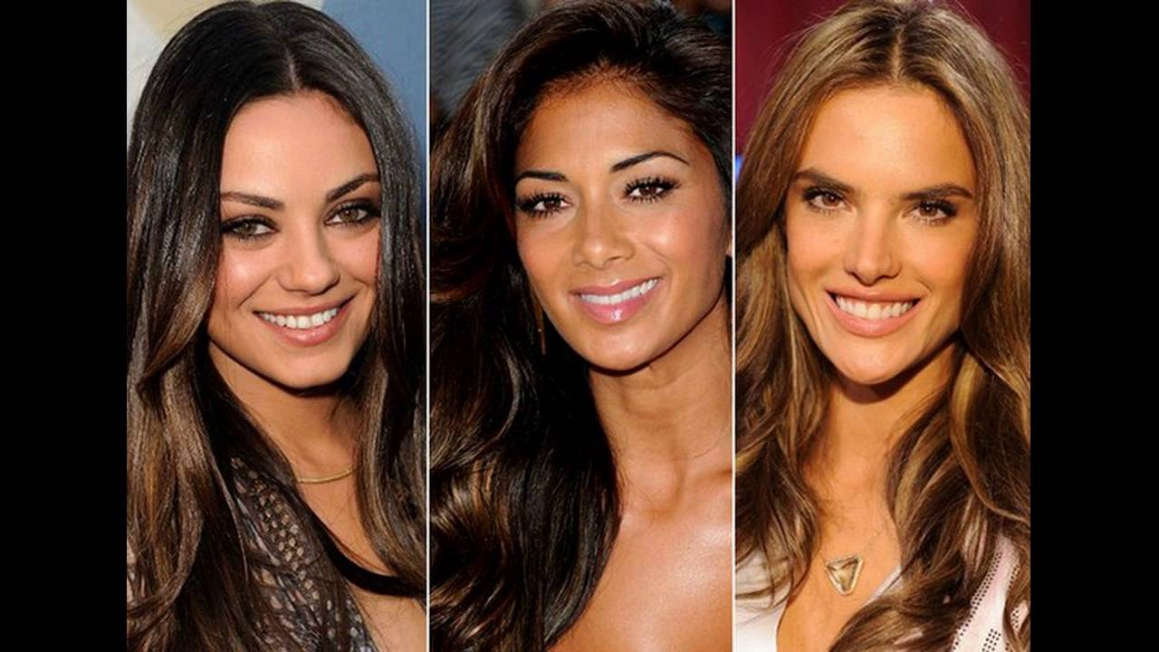 Ombre Hair Color For Tan Skin Youtube