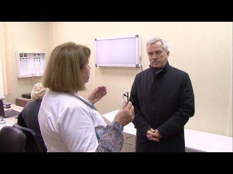 Евгений Савченко проверил медиков Ракитного