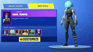 FULLY Personnaliser skin Personnages à venir dans Fortnite: Battle Royale! (NOUVEAU Fortnite UPDATE)