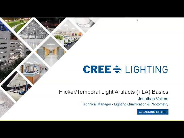 Flicker/Temporal Light Artifacts (TLA) Basics