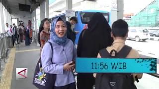 Mencapai Bundaran HI menggunakan Transjakarta