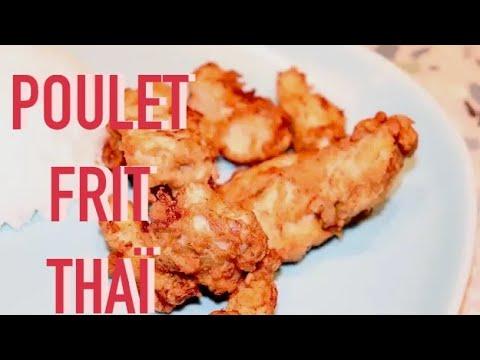 poulet-frit-croustillant-thaï---facile-plat-de-poulet-croustillant-avec-épices-thaï---recette-#180