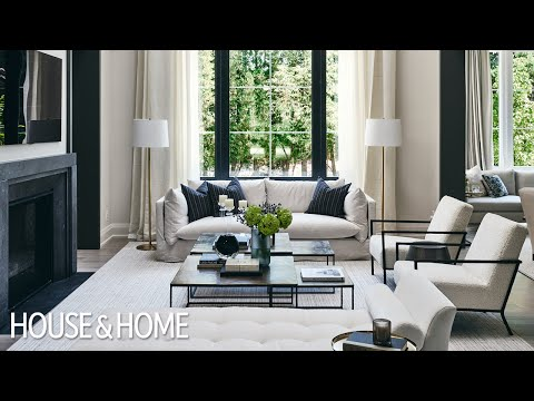 The Elegant 2020 Princess Margaret Lottery Showhome's Main Floor Designed By Brian Gluckstein