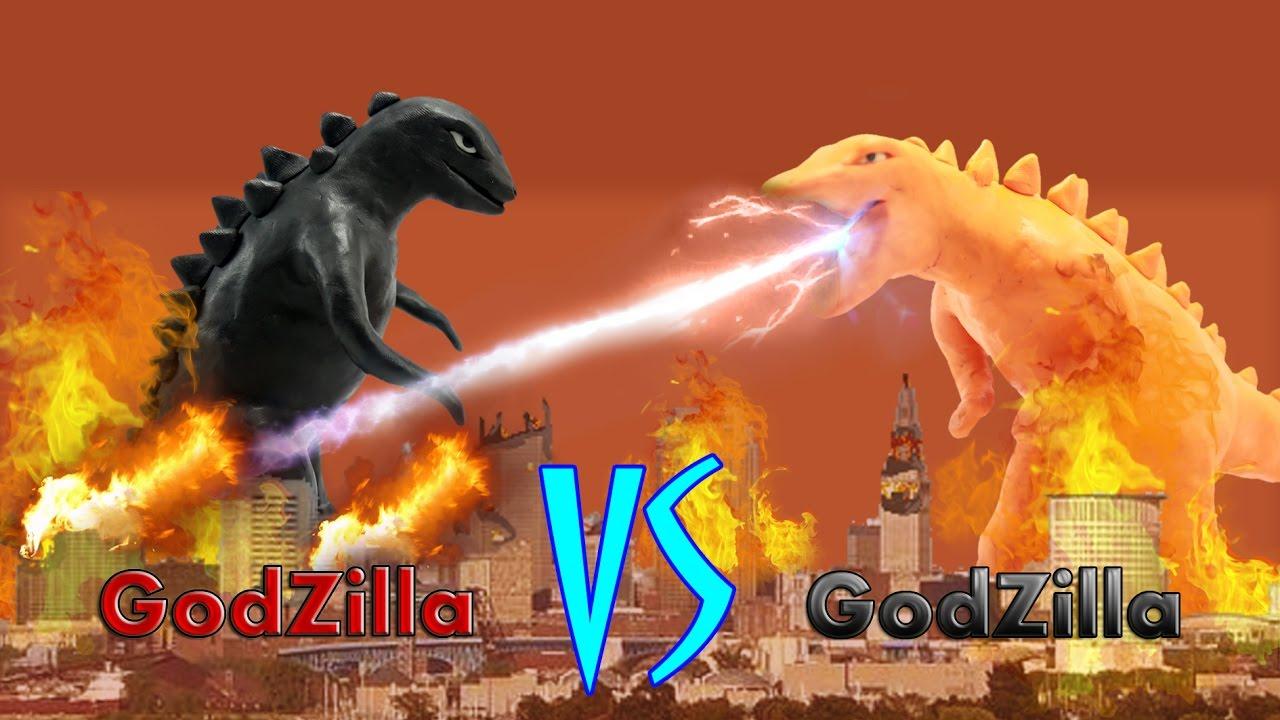 Godzilla vs Godzilla First Fight  Godzilla Monster For