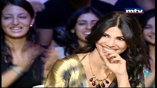 Bonita Saade at MTV Lebanon - Ahdam Chi with Mirielle Mazraani - بونيتا سعادة