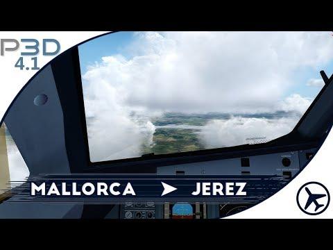 Vuelve Airbus!! | PMI - XRY | Airbus A320 [FSLabs] | Prepar3D v4